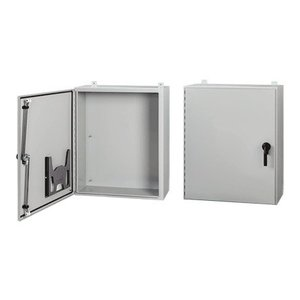 nVent Hoffman A72H36JLP3PT Wall Mount Enclosure, NEMA 4, Continuous Hinge With 3-Point Latch