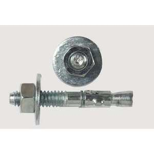 "Bizline 6424 Wedge Anchor, 1/2"" x 5-1/2"", Zinc"