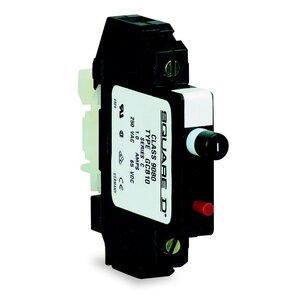 Square D 9080GCB10 Breaker, DIN Rail Mount, 1P, 1A, 250VAC, 65VDC, Thermal Magnetic