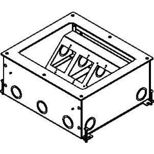 Wiremold RFB11-OG WIREMOLD RFB11-OGLRG CAPACITY ONGRADE FLOOR BOX 6IN