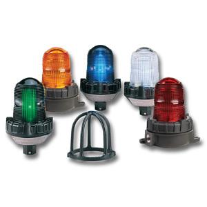 Federal Signal 151XST-012-024C Strobe Light, Hazardous Location, 12 - 24VDC, Color: Clear