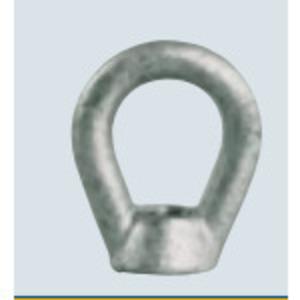 "PPC Insulators 1075 Eye Nut, 5/8"", Hot Dipped Galvanized"