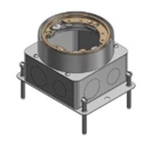 """Steel City 68-D Floor Box, Flush Service, Diameter: 3-5/8"""", Depth: 4-1/4"""", Steel"""