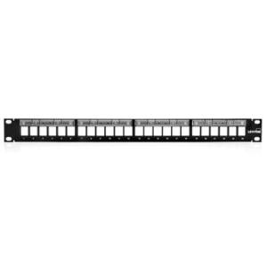 Leviton 49255-L24 Ppanel 24 C6 1ru + Bar
