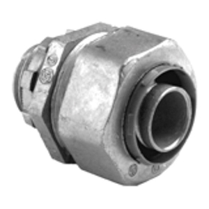 "Bridgeport Fittings 436-LT2 Liquidtight Connector, Straight, 2-1/2"", Non-Metallic"