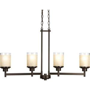 Progress Lighting P4619-20 4-Lt. linear chandelier