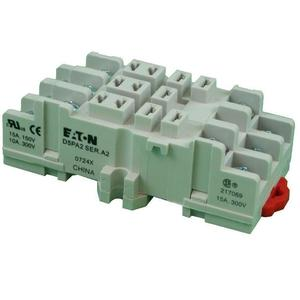 Eaton D5PA2 Socket, D5 Relays 11 Blade, Screw & Clamp Terminals