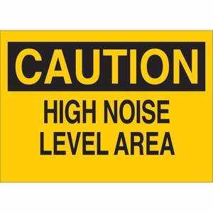 25473 EAR PROTECTION SIGN