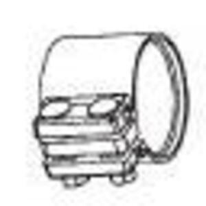 """Cooper Crouse-Hinds TCC3 1"""", Iron, Split Conduit Couplings"""