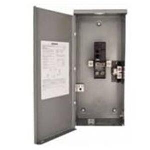 Siemens WB2150B Load Center, Main Breaker, 1PH, 150A 120/240VAC, 2/2, Type 3R