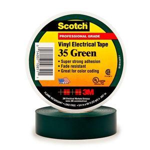 35   3/4X66 TAPE GREEN