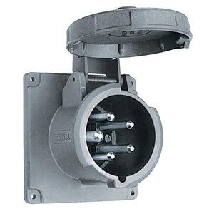 Hubbell-Wiring Kellems M5100B7R MARINE PS INLET, 4P5W,