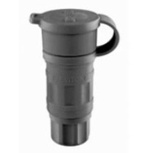 Leviton 27W76-B Locking Connector, 20A, 480V, 3PH, Waterproof
