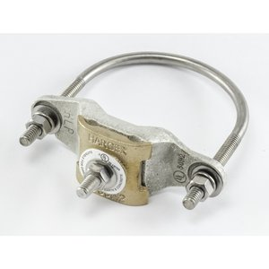 "Harger Lightning & Grounding CPC2.5/3 Pipe Ground Clamp, 6 AWG - 250 MCM, 2-1/ 2 - 3"", ETPB"