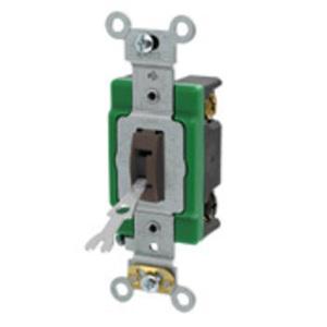 3033-2L GREEN T/SW T/P 3WAY 30A120277VAC