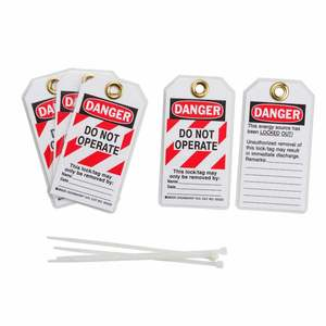 103541 LOCKOUT TAGS DANGER