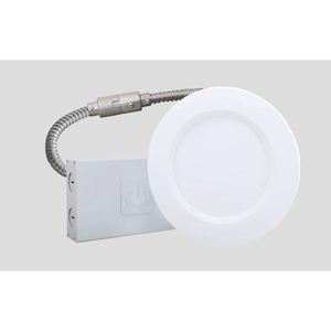 "Green Creative 10NCDLR4DIM/935/277V/EXT LED Downlight, 4"", 10 Watt, 720 Lumen, 3500K, 277V"