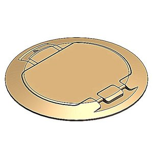 Steel City 68-HP-FC-BRS 68-HP FLUSH COVER - BRASS