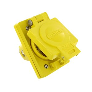 Leviton 68W83 Inlet with Cover