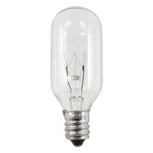 Candela 40T8130VCS Incandescent Bulb, T8, 40W, 130V, Clear