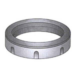 "OZ Gedney AB-150 Conduit Bushing, Insulated, 1-1/2"", Threaded, Aluminum"