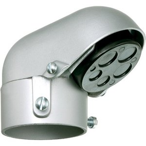 "Arlington 129 Mast Reducer Entrance Cap, 2-1/2"", Metallic"