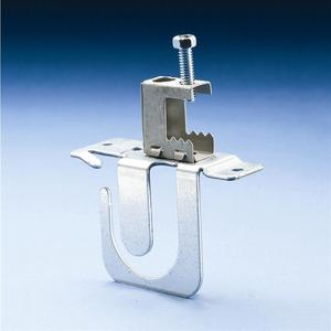 Erico Caddy MCS50BC MC/AC Cable Support With Flange Clip, Flange 1/8 - 1/4 Inch, Steel