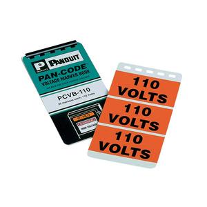 Panduit PSSB-13 Voltage marker book