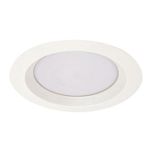 "Juno Lighting 240-PW Reflector Trim, Wet Location Albalite, 6"", Plastic White"
