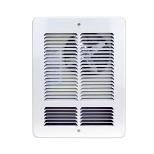 King Electrical W2420I-T W2420I-T-W Wall Heater Interior/Grill, 240V