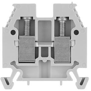 Allen-Bradley 1492-W10-W Terminal Block, 50A, 600V AC/DC, White, 10mm, Space Saver