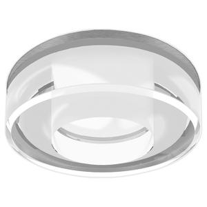 "Lightolier S6132BU Downlight, Compact Fluorescent, 6"", 26;32W, 120/277V"