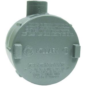 "Hubbell-Killark GECET-1 1/2"" GEC Outlet Body, E-Type, Aluminum"