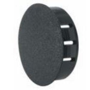 """Heyco 2618 Knockout Seal, Type: Dome Plug, Diameter: .375"""", Non-Metallic, Black"""