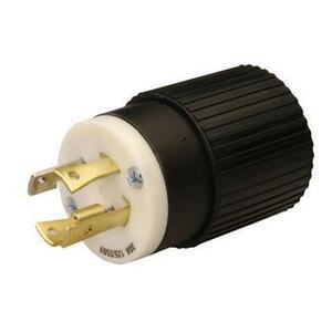 Reliance Controls L1430P Locking Plug, 30A, 125/250V, L14-30P, 3P4W