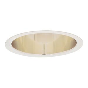 """Lightolier 1196 6 3/4"""" Deep W-wash Spec. Clear"""