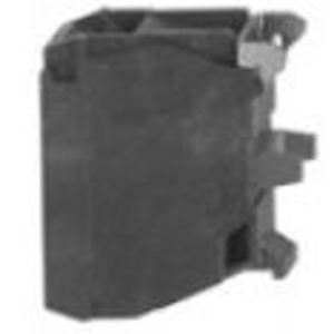 Square D ZBE102 Pilot Device, 1NC Contact Block, 22.5mm, 10A, 600VAC