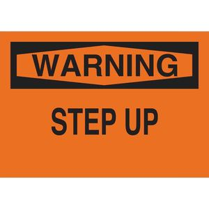 25637 FALL PROTECTION SIGN