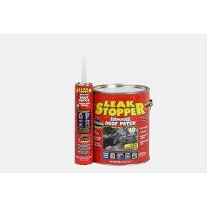 Bizline 0319-GA Leak Stopper Rubberized Roof Patch, 10 Ounce Caulk Tube