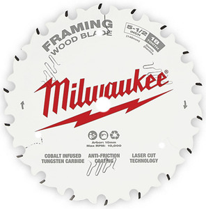 "Milwaukee 48-40-0524 5-3/8"" Circular Saw Wood Cutting Blade"