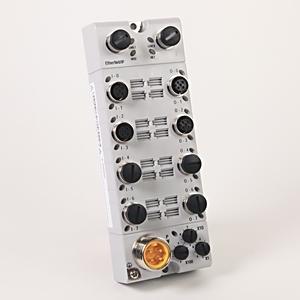 Allen-Bradley 1732E-8X8M12DR I/O Module, 8 Inputs, 8 Outputs, Dual-Port, with Diagnostics
