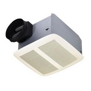 Nutone QTXEN110 Ceiling Fan, Energy Efficient, 110 CFM