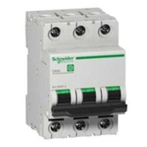 Square D M9F11316 Breaker, Miniature, 3P, 16A, C Curve, 240/415VAC, DIN Rail Mount