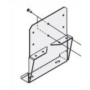 """Allen-Bradley 598-N5 Enclosure Mounting Pad Foot Kit, 9.686"""" x 11"""", Steel"""