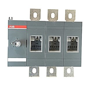 ABB OT800U03 Disconnect, Non-Fused, 800A, 3P, 600VAC, Terminal Bolt Included