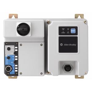 Allen-Bradley 280D-F12Z-10B-CR-3 Softstarter, Full Voltage, 24VDC, 10A, 0.5 - 2.5A Range, HOA Keypad