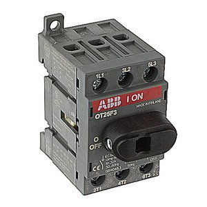 Thomas & Betts OT25F3/B50 ABB OT25F3/B50 3P 25A UL508 NF, QTY