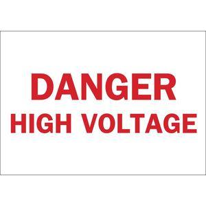 25771 ELECTRICAL HAZARD SIGN