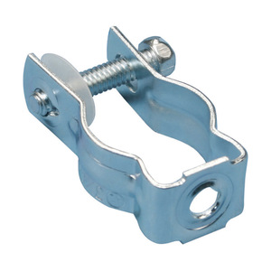 "nVent Caddy CD1B Conduit Hanger with Bolt, Diameter: 3/4"", Steel"
