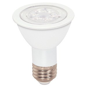 Satco S9188 LED Lamp, 7 Watt, 340 Lumen, PAR20, Red, Medium Base, 120V